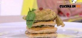 Detto Fatto | Millefoglie salata ricetta Ilario Vinciguerra