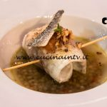 Masterchef Italia 7 - ricetta Orata in zuppetta di lenticchie di Simone Scipioni