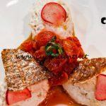 Masterchef Italia 7 - ricetta Orata mantecata con confettura di pomodorini di Simone Scipioni