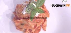 La Prova del Cuoco - Picagge con pomodoro e pesto di basilico ricetta Ivano Ricchebono