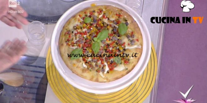 Detto Fatto Pizza Spicchio Destate Ricetta Gianfranco Iervolino