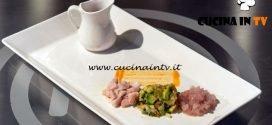 Masterchef Italia 7 - ricetta Ricciola in pomo d'acqua di Denise Delli