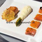 Masterchef Italia 7 - ricetta Salmoni opposti di Rocco Buffone
