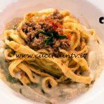 Masterchef Italia 7 - ricetta Tagliatelle d'agnello su crema di carciofi di Rocco Buffone