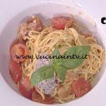 La Prova del Cuoco - Tagliolini all'uovo con pomodorini e basilico ricetta Cristian Bertol