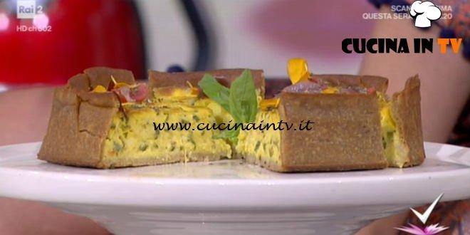 Detto Fatto - Torta salata da spiaggia ricetta Stefano Ciotti