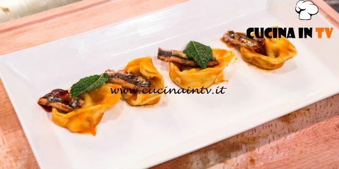 Masterchef 7 | Tortelli inventati ricetta Davide Aviano