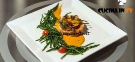Masterchef Italia 7 - ricetta Tortino di salmone su salsa di pomodoro di Antonino Bucolo