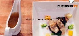Masterchef Italia 7 - ricetta Brodo di miso e anguilla arrosto di Davide Aviano