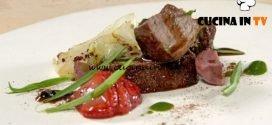 Masterchef Italia 7 - ricetta Capriolo fragole e verzotto di Antonia Klugmann