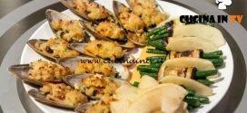 Masterchef 7 | Cozze gratinate con involtini vegetariani e mela verde al balsamico ricetta Giovanna Rosanio