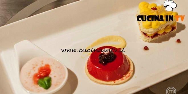 Masterchef Italia 7 - ricetta Dolci verdure di Francesco Rozza