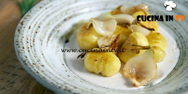 Masterchef Italia 7 - ricetta Gnocchi di patate dorati ripieni di baccalà mantecato di Daniel Canzian