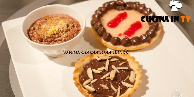 Masterchef Italia 7 - ricetta Merenda al cioccolato di Simone Scipioni