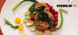Masterchef Italia 7 - ricetta Occhio di bue al kimchi di Antonino Bucolo