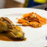 Masterchef Italia 7 - ricetta Pollo di nonna Rachel con carote al cumino di Italo Screpanti