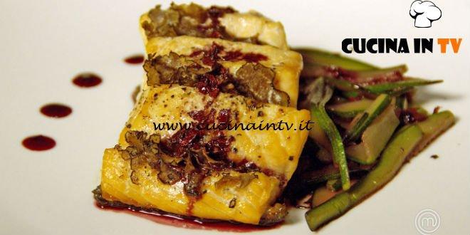 Masterchef Italia 7 - ricetta Salmone al tartufo su riduzione di Porto di Giovanna Rosanio
