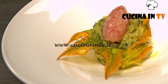 Masterchef 7 | Spaghetti con gamberi e zucchine ricetta Antonino Cannavacciuolo
