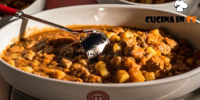 Masterchef Italia 7 - ricetta Spezzatino di vitello con patate e spezie di Denise Delli