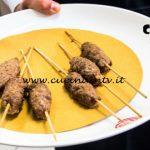Masterchef Italia 7 - ricetta Spiedini kofta con babaganoush di Giovanna Rosanio