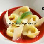 Masterchef Italia 7 - ricetta Tortelli di zucca su salsa di lamponi di Rocco Buffone