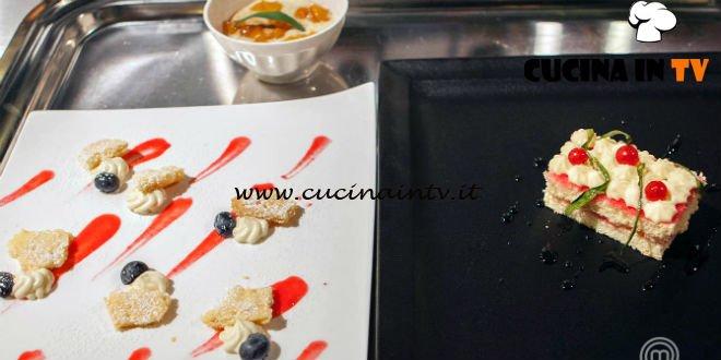 Masterchef Italia 7 - ricetta Via lattea di Alberto Menino