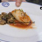 Masterchef Italia 7 - ricetta Calamari ripieni in umido con caponata di melanzane di Kateryna Gryniukh