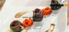 Masterchef Italia 7 - ricetta Carpaccio marinato di Marianna Calderaro