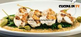 Masterchef 7 | Coda di rospo in salsa di noci e capperi ricetta Giorgio Locatelli
