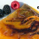 Masterchef Italia 7 - ricetta Crêpes suzette flambé con arance caramellate di Davide Aviano