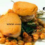 Masterchef Italia 7 - ricetta Filetto di maiale in crosta di mostarda e borlotti di Giorgio Locatelli
