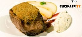 Masterchef Italia 7 - ricetta Filetto di maiale tra dolcezza e acidità di Simone Scipioni