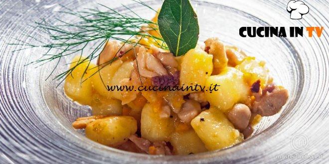 Masterchef Italia 7 - ricetta Gnocchi al ragù di coniglio di Simone Scipioni