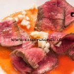 Masterchef Italia 7 - ricetta Manzo scottato e marinato di Simone Scipioni