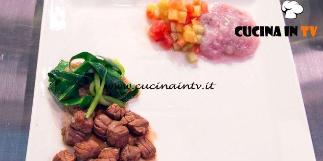 Masterchef Italia 7 - ricetta Marinatura Estate Inverno di Denise Delli