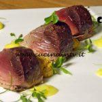 Masterchef Italia 7 - ricetta Palamita pesto mediterraneo e crema di patate agli agrumi di Antonino Bucolo