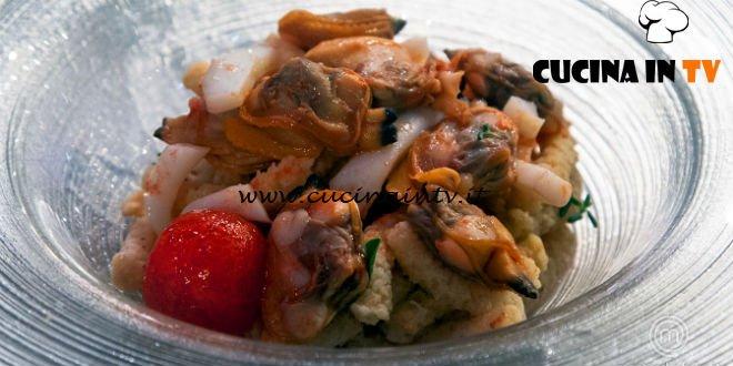 Masterchef 7 | Passatelli ai frutti di mare ricetta Denise Delli