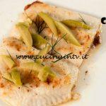 Masterchef Italia 7 - ricetta Platessa al limone di Simone Scipioni