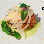 Masterchef Italia 7 - ricetta Rana pescatrice e asparago di Kateryna Gryniukh