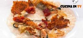 Masterchef Italia 7 - ricetta Risotto al burro di melanzane di Simone Scipioni