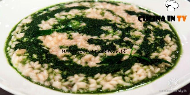 Masterchef Italia 7 - ricetta Risotto alle ortiche di Kateryna Gryniukh