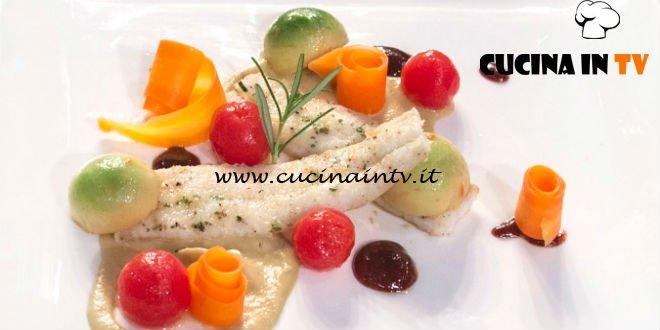 Masterchef Italia 7 - ricetta Sogliola dell'amico di Antonino Bucolo
