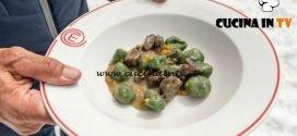 Masterchef Italia 7 - ricetta Strangolapreti con ragù bianco di capriolo di Francesco Rozza