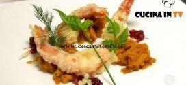 Masterchef Italia 7 - ricetta Trippa di vitello cipolla candita e gamberi in tempura di Antonino Cannavacciuolo