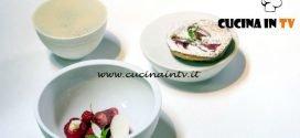 Masterchef Italia 7 - ricetta Yogurt lampone e fiori di sambuco di Andreas Caminada