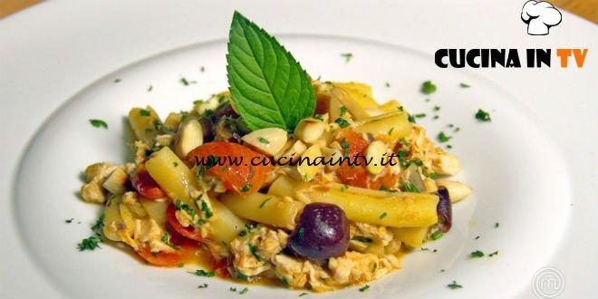 Masterchef Italia 7 - ricetta Ziti alla siciliana di Antonino Bucolo