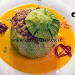 Masterchef Italia 7 - ricetta Zucchina tonda alla genovese su crema di carote al sentore di cipolla di Davide Aviano