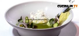 Masterchef Italia 7 - ricetta Zuppa di cetriolo fredda con avocado e latticello di Andreas Caminada