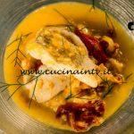 Masterchef Italia 7 - ricetta Zuppetta di platessa di Simone Scipioni