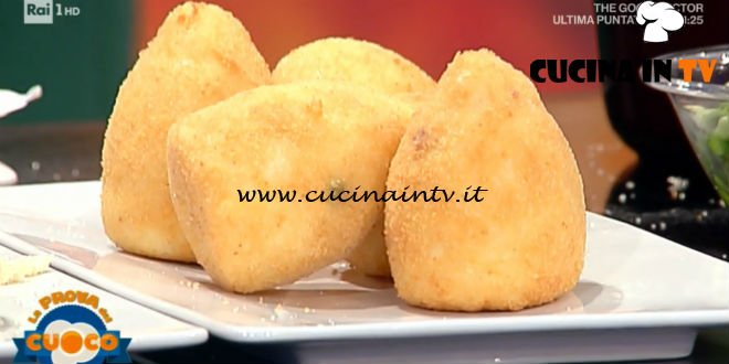 La Prova del Cuoco | Arancine siciliane ricetta Sergio Maria Teutonico